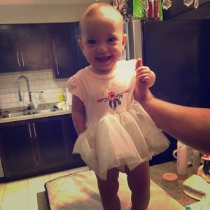 Adorable 6-9 Nicole Miller onsie with tutu